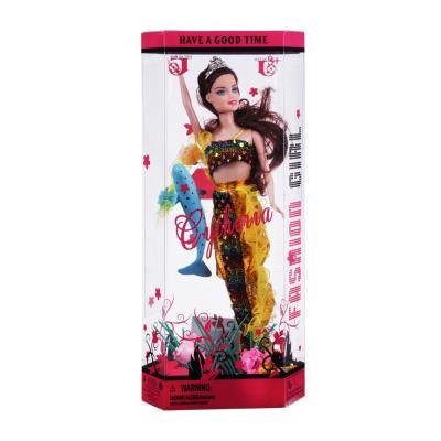 267-724 Кукла Русалка с аксессуарами, 29см, пластик, полиэстер, 3 дизайна