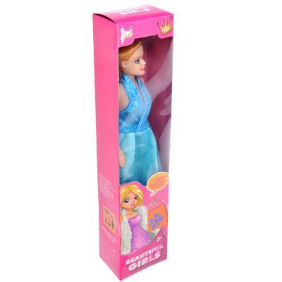 267-747 Кукла 29см, пластик, полиэстер, 4 дизайна