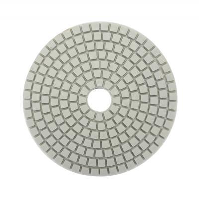 """645-189 ЕРМАК Круг алмазный, гибкий шлифовальный, полировальный """"Черепашка"""" 100мм №400"""