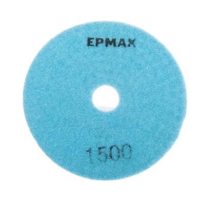 """645-191 ЕРМАК Круг алмазный, гибкий шлифовальный, полировальный """"Черепашка"""" 100мм №1500"""