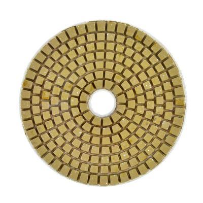 """645-192 ЕРМАК Круг алмазный, гибкий шлифовальный, полировальный """"Черепашка"""" 100мм №3000"""