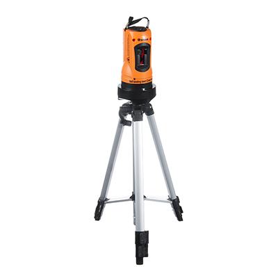 659-140 ЕРМАК Уровень лазерный, самовыравнивающийся, 10м, кейс, (ПРОМО)