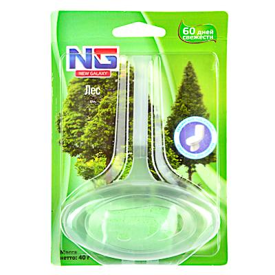 778-045 Освежитель для унитаза подвесной, аромат лес, блистер, NEW GALAXY