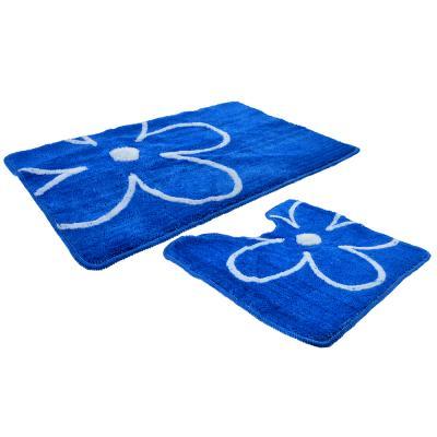 462-639 VETTA Набор ковриков 2шт для ванной и туалета, акрил, 50x80см + 50x50см, эконом 3
