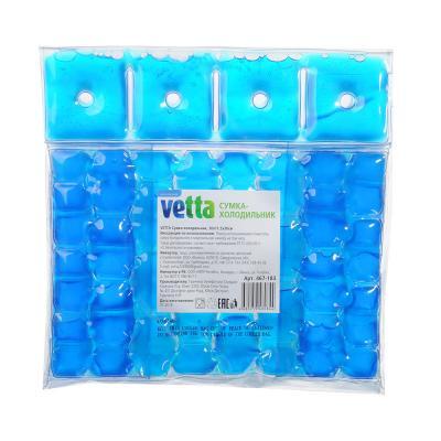 467-182 VETTA Сумка-кулер для 2 бутылок, ПВХ, 18,2х9х28см