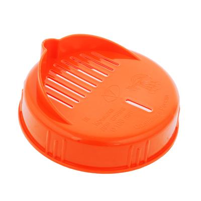 843-039 Крышка пластиковая для слива Твист-офф d100мм