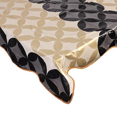 479-220 VETTA Скатерть виниловая тиснёная с каймой, 110х140см, орнамент