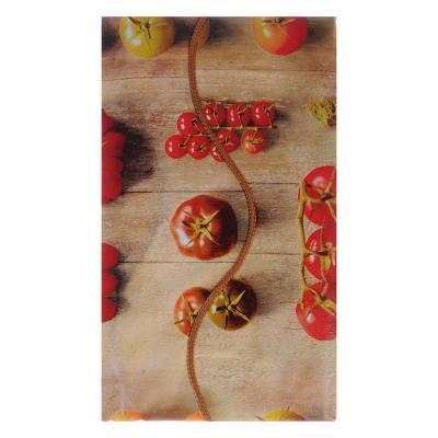 479-222 VETTA Скатерть виниловая тиснёная с каймой, 110х140см, овощи