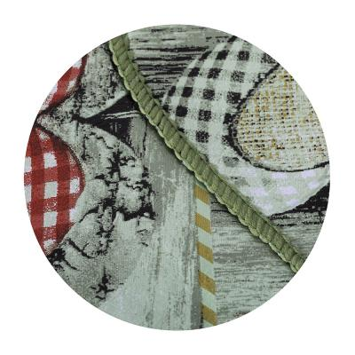 479-232 VETTA Скатерть виниловая с каймой, 137x182см, сердца