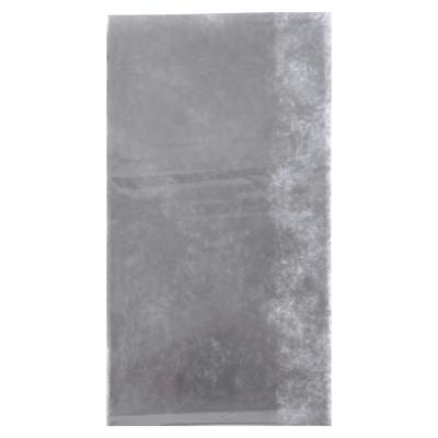 479-237 VETTA Скатерть виниловая прозрачная, 152х228см, вензель серебристая