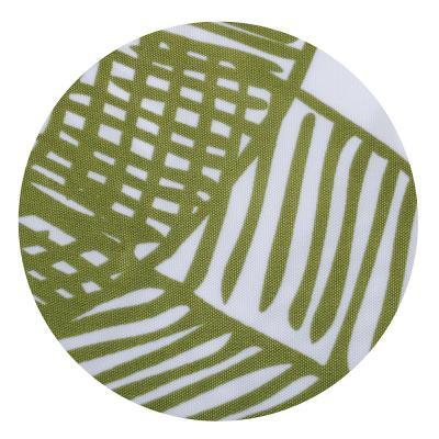019-008 SonWelle Шторка для ванной, полиэстер, 180х180см, с утяжелителем, ЛИСТЬЯ