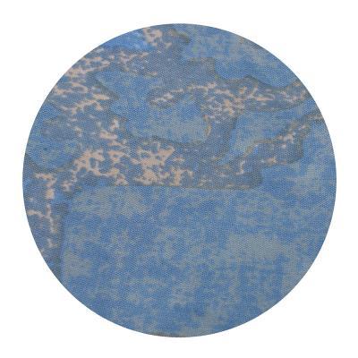 019-014 SonWelle Шторка для ванной, полиэстер, 180х180см, с утяжелителем, ХЛОПОК