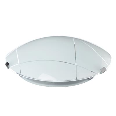 417-109 Светильник Контур 250мм, 25,5х25,5х11,5см, 60Вт, E27, стекло, металл