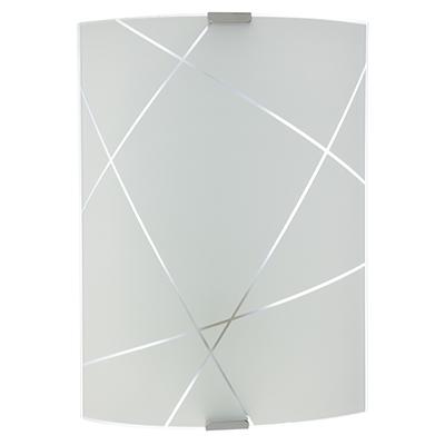 417-112 Светильник Контур 210х290 мм, 60Вт, Е27, стекло, металл