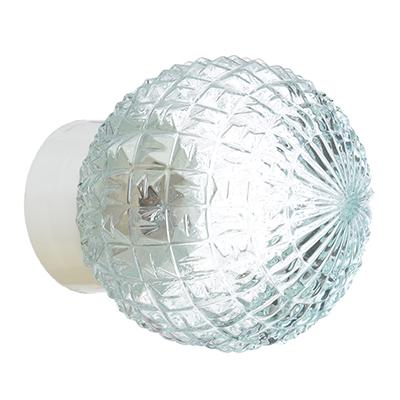 417-117 Светильник Гранат, 150 мм, 60Вт, Е27, прямой, стекло