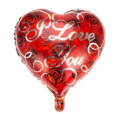518-048 Шар фольгированный в виде сердца