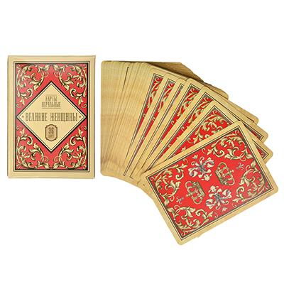 538-080 Карты игральные бумажные, 6,3х8,8см, 36 шт, Великие женщины