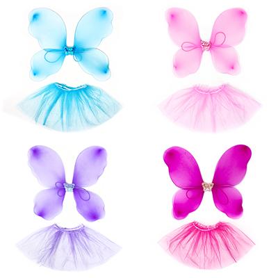 342-076 Костюм карнавальный юбка с крылышками, 2 предмета, полиэстер, СНОУ БУМ
