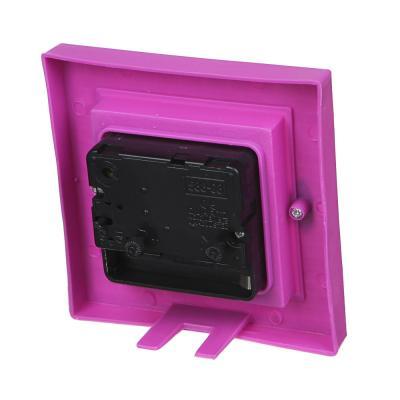 529-143 Будильник, пластик, 10 см, 1хАА, 4 цвета