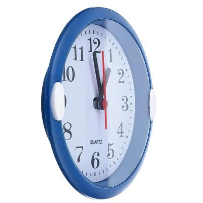 581-698 Часы настенные, пластик, 15,5см, 1хАА, 3 цвета, арт 4