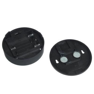 222-001 ЧИНГИСХАН Светильник подвесной с пультом, 15 LED, 3Вт, 3*АА, 8х8х3см, пластик