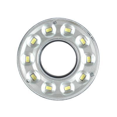 222-003 Светильник кольцо, 10 LED, 3Вт, 3*АAА , 9х9х2см, пластик