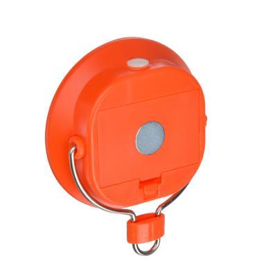 222-006 ЧИНГИСХАН Светильник подвесной, 1 COB, 1Вт, 3xАAA, d8см, пластик, 2 режима