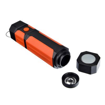 222-009 ЧИНГИСХАН Фонарь рабочий выдвижной, 1 COB+1 LED, 7+1Вт, 4*AAA, 21x3.6см, 2 режима, магнит