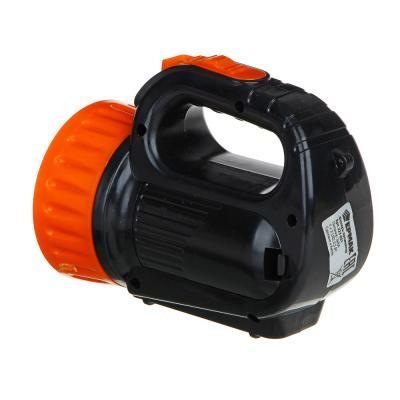 223-001 ЧИНГИСХАН Фонарь, 1 LED + 2 LED, 1+2 Вт, 3xАА, 12х10х5см, пластик