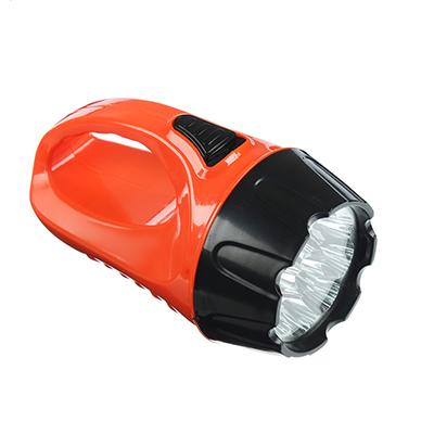 223-003 ЧИНГИСХАН Фонарь, 9 LED, 3Вт, 3xAA, 15см, 2 режима, пластик