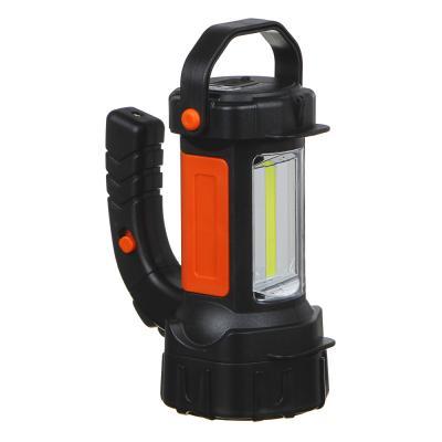 223-005 ЧИНГИСХАН Фонарь, 1 LED + 12 LED, 3Вт + 3Вт, аккумулятор 800мАч, 220V, 17х13см, резино-пластик