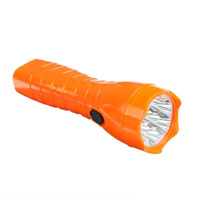 224-010 ЧИНГИСХАН Фонарь, 7 LED, 3Вт, аккумулятор 450мАч, 20см, пластик