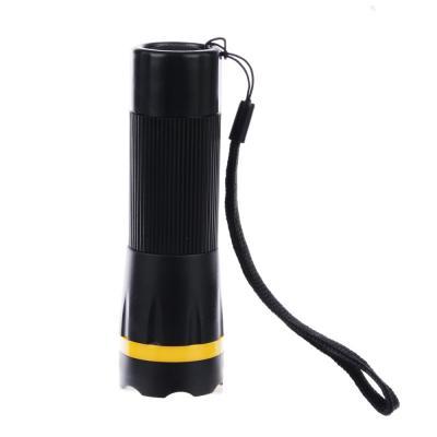 227-001 ЧИНГИСХАН Фонарь с фокусировкой, 1 LED, 1Вт, 3xAAA, 11см, резино-пластик