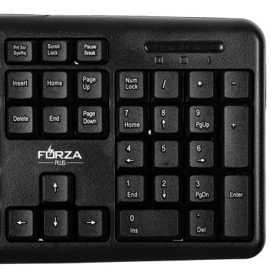 916-125 FORZA Клавиатура, USB, 1.3м