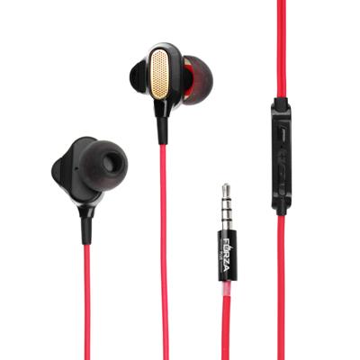 Наушники вакуумные с микрофоном, 2 пары насадок, 120 см, коробка картон, пластик, 3 цвета