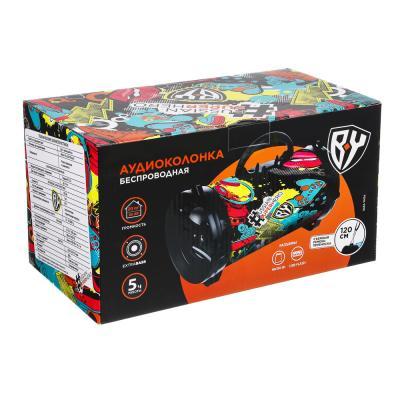 916-138 FORZA Колонка беспроводная, цвет хаки, 25см, 1200мач, Micro-SD, USB, AUX, FM, 2 цвета