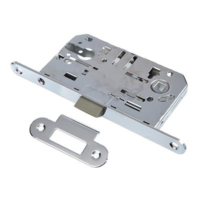 616-030 Корпус врезного замка под цилиндровый механизм 50мм, м/о 85 мм CP(хром)