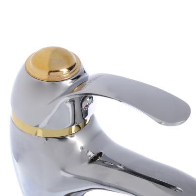 567-022 Смеситель для раковины, без подводки, картридж 40 мм, шпилька, цинк, СоюзКран SK1021