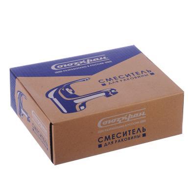567-025 Смеситель для раковины, без подводки, картридж 40 мм, шпилька, цинк, СоюзКран SK1051