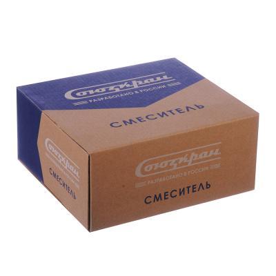 567-036 СоюзКран Смеситель для раковины SK2011, без подводки керам. кран-букса 1/2, шпилька, цинк