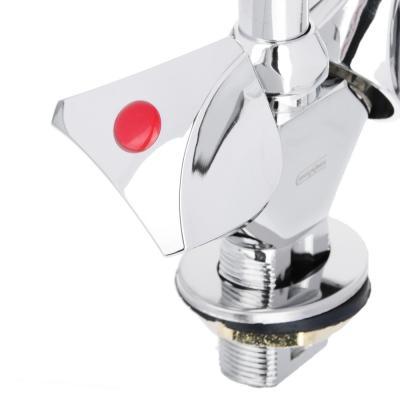 567-065 Смеситель для кухни без подводки, резиновые кран-буксы 3/8, цинк, СоюзКран SK2044.1