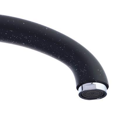 567-075 Смеситель для кухни без подводки, картридж 35 мм, шпилька, цинк, черный, СоюзКран SK2194.4