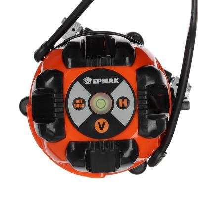 659-141 ЕРМАК Уровень лазерный 3 луча, 15м, кейс