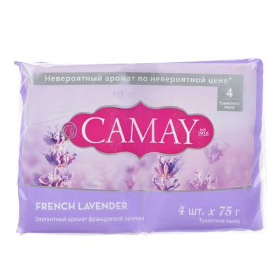 952-084 Мыло твердое CAMAY аромат французской лаванды п/у 4x75 г 67048258