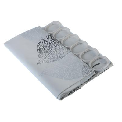 019-026 SonWelle Шторка для ванной, ПЕВА, 180х180см, 3 дизайна, КОЛОР