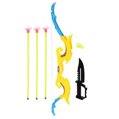 261-653 Набор игровой Оружие: Лук со стрелами, 6 пр., пластик, 12х53х2см