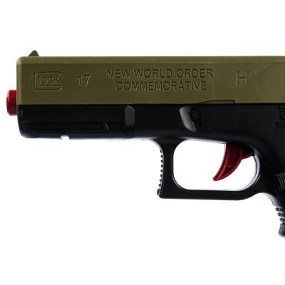 261-655 ИГРОЛЕНД Пистолет с пулями гидрогель, пластик, полимер, 33х18х3см