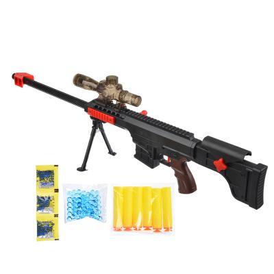 261-656 ИГРОЛЕНД Набор Ружье с прицелом: пули гидрогель, мягкие пули, пластик, полимер, 70х14х3см