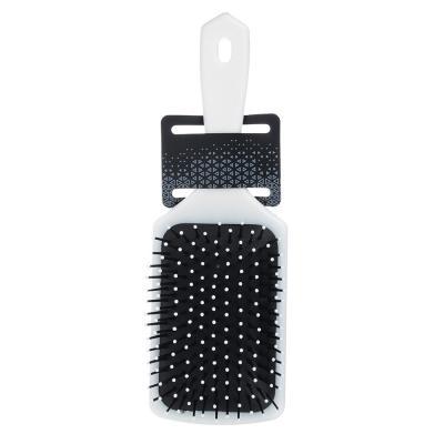 356-629 Расческа массажная, пластик, 23,5х7,5 см, 4 дизайна