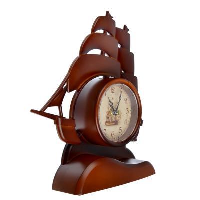 581-704 Часы настенные, пластик, 26x23x5.3см, 1 x АА, арт.DM 8